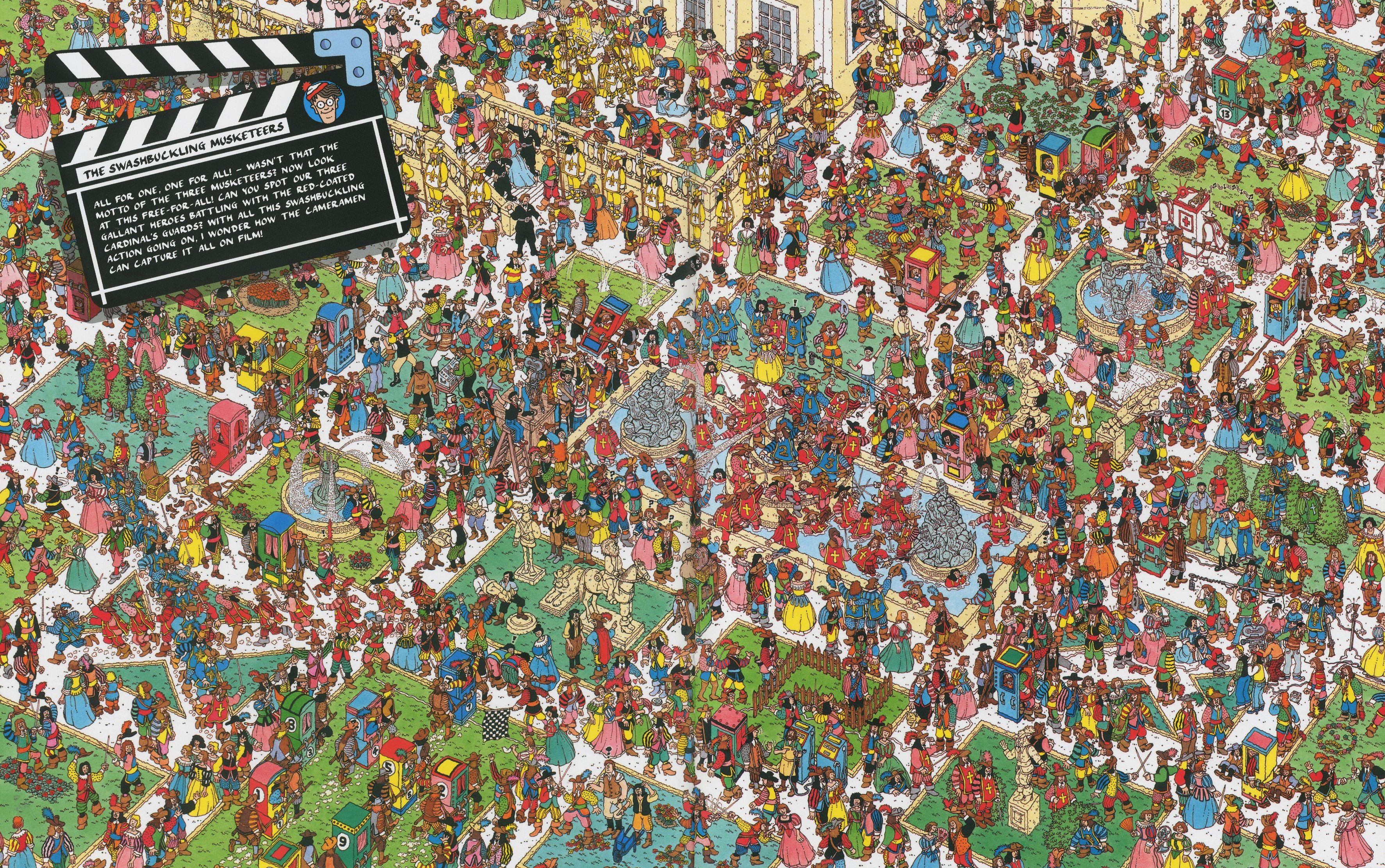 This is an image of Transformative Where's Waldo Pictures Printable