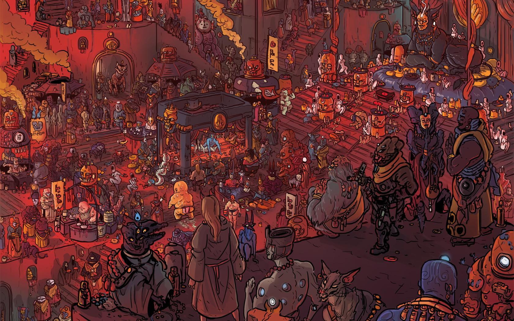 Art by Tom Parkinson-Morgan